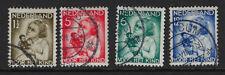 Netherlands : 1934 Child Welfare set Sg443-46 used