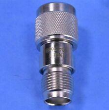 1 (One) Aeroflex/API/Inmet TNC/TNC (M/F) 6dB 50 Ohm Attenuator P/N: 9042-6dB