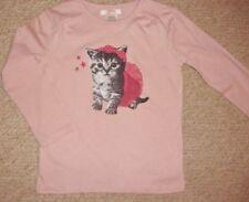 Camisetas y tops de niña de 2 a 16 años blancos rosas