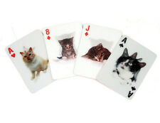 Cats 3D Playing Cards Deck Brand New