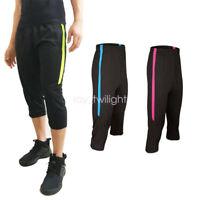Men's Sport Soccer Football Fitness Gym Training Track 3/4 3-Quater Shorts Pants