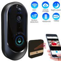 Smart Wireless WiFi Doorbell IR Video Camera Intercom Home Security Visual Door