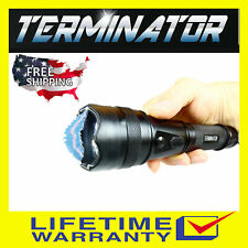 Terminator Max Power Police Grade Stun Gun Sf790 - 560 Bv Rechargeable w/ Holder