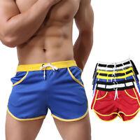 Men  Underwear Boxer Briefs Pants Summer Swim Shorts Swimwear Swimming Trunks