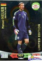 2014 Panini Adrenalyn World Cup EXCLUSIVE Manuel Neuer Limited Edition MINT