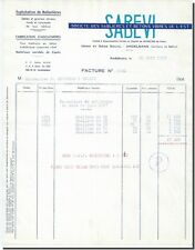 Invoice - SABEVI - Company of sand pits and concrete vibrated East - Andelnans