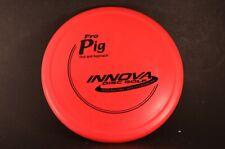 Pig Pro 175g Red Grippy Vintage OOP Innova New *PRIME* Disc Golf Rare