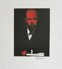 ANDY WARHOL 1984 LENIN HAND SIGNED HIGH QUALITY PRINT + NO RESERVE !!