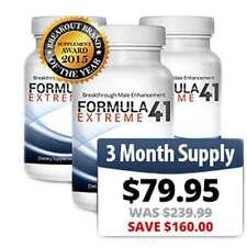 Formula41 Extreme-3 Month-Supply Male Enhancement - Increase Size and Stamina