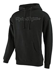 Troy Lee Designs Pullover Hoody SIGNATURE - Black