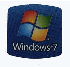 WINDOWS 7 STICKER LOGO AUFKLEBER 17,5x17,5mm