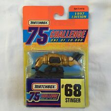 Matchbox 1997 Challenge 75 Gold  1/10,000 - #68  Stinger
