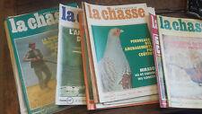 La revue nationale de la chasse 1977 année complète 12 revues