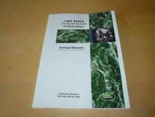RANGE ROVER CLASSIC V8 ENGINES Overhaul Owners Handbook Service Manual Book