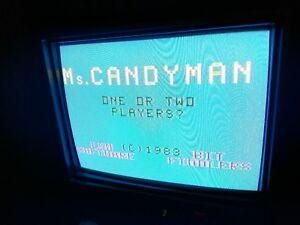 Bally Astrocade Ms Candyman super rare Videocade atari nes
