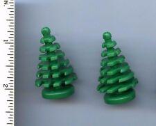 LEGO x 2 Green Plant, Tree Pine Small 2 x 2 x 4 NEW