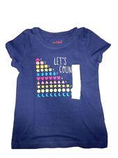 Cat & Jack Let's Count 5T T-shirt, Nwt
