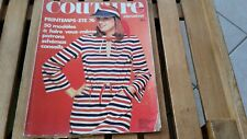 REVUE COUTURE INTERNATIONAL N°64  COLLECTIONS printemps été 1976 mode fashion