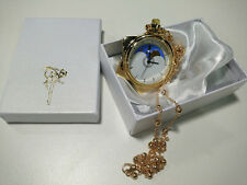 Sailor Moon Crystal Tuxedo Mask Cosplay Prop Star Locket Watch Necklace Pendant