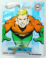 Hot Wheels DC COMICS AQUAMAN '65 FORD RANCHERO REAL RIDERS