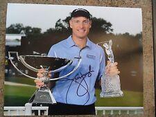 Jim Furyk signed photo Hologram COA PGA Golf