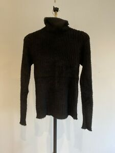 Quiz Fuzzy Knit Roll Neck Top S/M