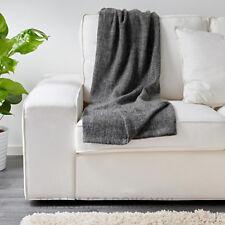 IKEA gurli GRIS NOIR Couvre-lit 120x180cm Couvre-lit Plaid Tapis NEUF