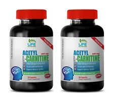 Metabolism Miracle - Acetyl L-Carnitine 500mg - Acetyl L-Carnitine Tablets 2B