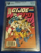 Blackthorne 3-D Series #20 (1987) CBCS 9.8 white pages not cgc G.I.Joe in 3-D