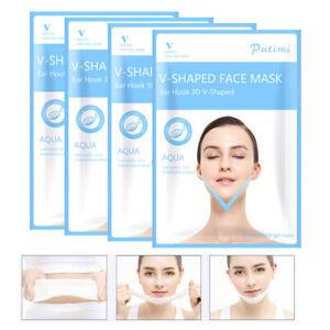 Double Chin Reducer V Line Lifting Face Mask V Shape Slimming Firming Mask UK