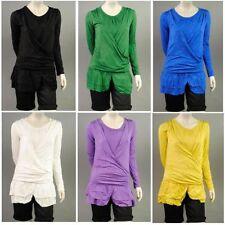 Damenkleider mit Rundhals-Ausschnitt in Kurzgröße L