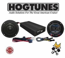 "HOGTUNES WILD BOAR AUDIO 400 WATT AMP & 6.5"" SPEAKER KIT HARLEY 2014-17 FLHX"