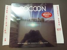 SEALED COCOON ORIGINAL SOUNDTRACK 1985 JAMES HORNER LP W/ HYPE 827 041-1 Y-1