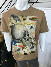 Men's Dsquared2 short sleeve Brown T-shirt size L RRP £290 and now £99