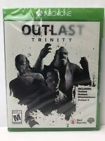 OUTLAST Trinity. Xbox One. Brand New.