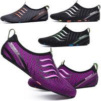 Water Shoes Women Men Quick Dry Aqua Diving Beach Wetsuit Swim Shoes Size 3-12.5