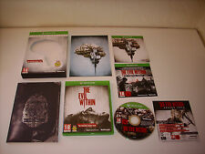 "JEU XBOX ONE "" THE EVIL WITHIN "" EDITION LIMITED "" 100% COMPLET NEUF !"