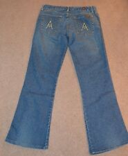 7 For All Man Kind Ladies A-Pocket Denim Size 30 Jeans EUC