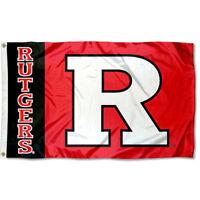 Rutgers University Scarlet Knights Flag  Large 3x5