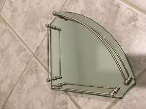 Frontgate Belmont collection mirror vanity tray