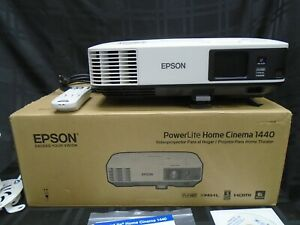 EPSON POWERLITE HOME CINEMA1440 1080P FULL HD 3-LCD PROJECTOR V11H813020 BUNDLE