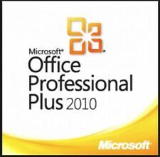 Microsoft Office 2010 Pro Professional Plus - 32/64 bit - Multilingual
