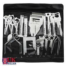 38X Removal Keys Tool Set Kit universal Car CD Radio Stereo Release Head Unit