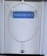 Collane e pendagli di lusso con perle multicolore in oro bianco 18 carati