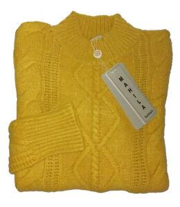 Nuovo Maglione Donna Pullover dolce vita collo alto Maglia lana Tecce Lunghe top
