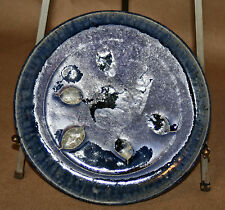 Alexandre Bigot (1862-1927) Dinner Plate 2 French Art Nouveau Pottery