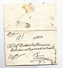 U977-PERIODO NAPOELONICO-PREF.ADRIA/FERRARA 1809