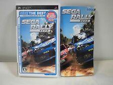 PlayStation Portable -- SEGA RALLY REVO Best Price -- PSP. JAPAN GAME. 52777