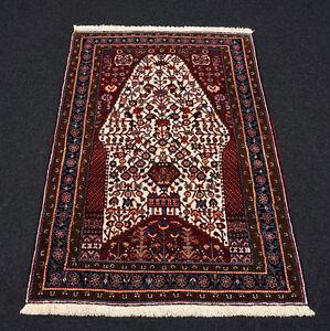 Orient Teppich Gashgai 142 x 102 cm Brücke Schiraz Perserteppich Handgeknüpft
