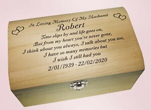 Cremation Of Dad Mum Daughter Son Brother Memorial Human Casket Urn For Ashes
